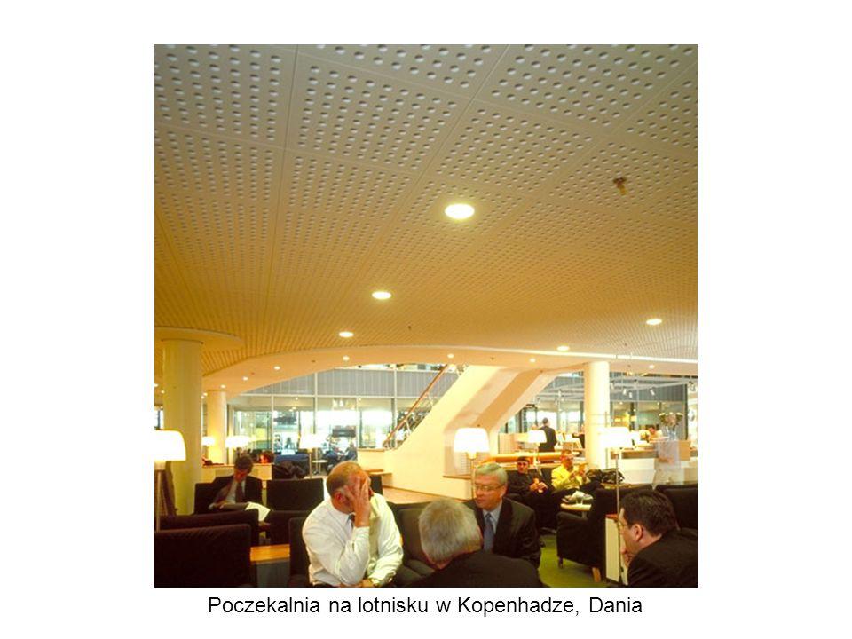 Poczekalnia na lotnisku w Kopenhadze, Dania