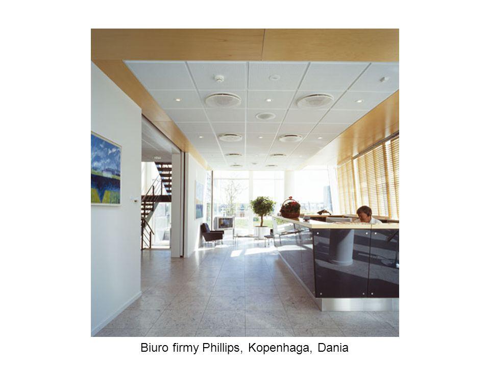 Biuro firmy Phillips, Kopenhaga, Dania
