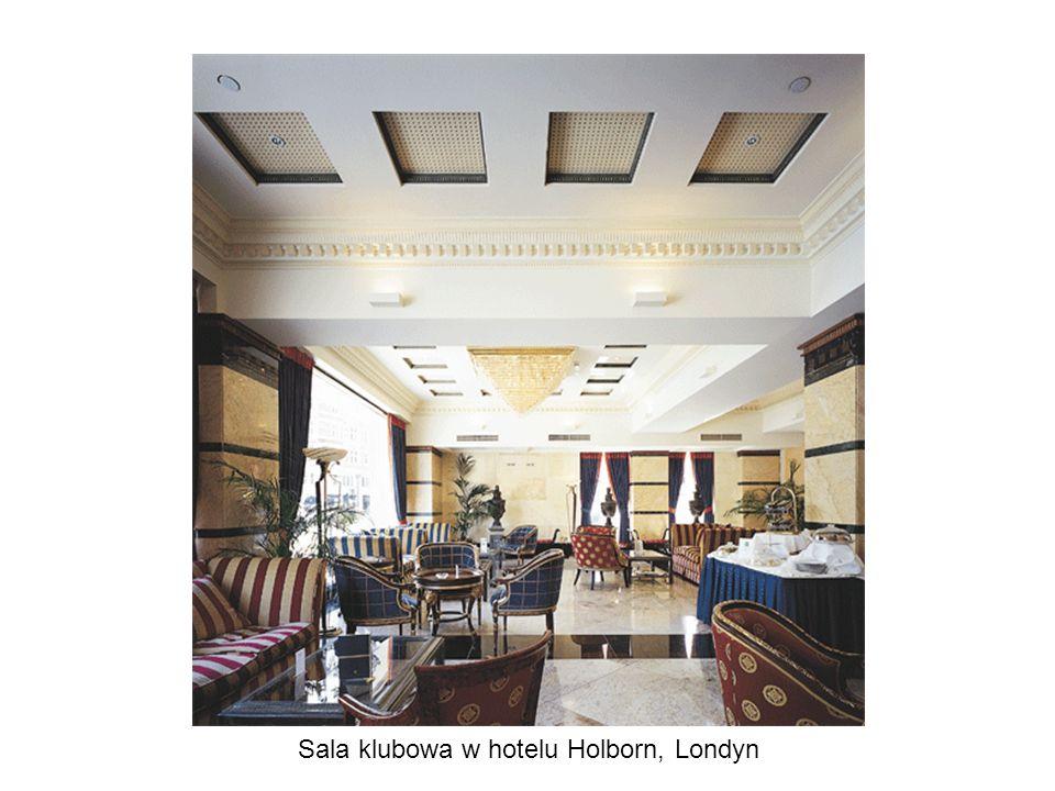 Sala klubowa w hotelu Holborn, Londyn