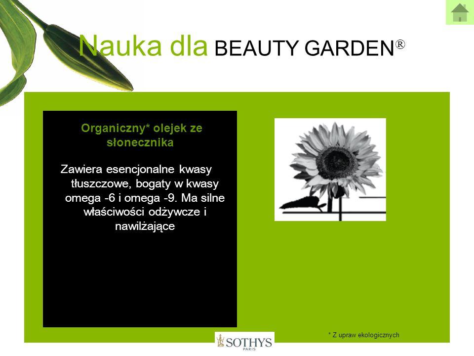 Organiczny* olejek ze słonecznika
