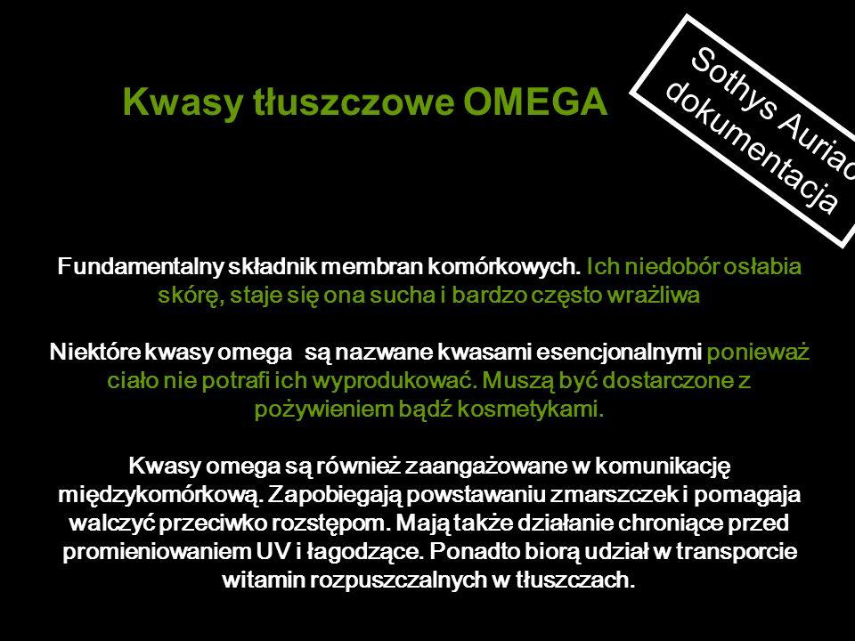 Kwasy tłuszczowe OMEGA