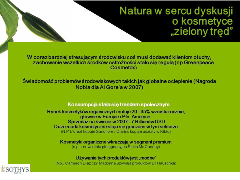 """Natura w sercu dyskusji o kosmetyce """"zielony tręd"""