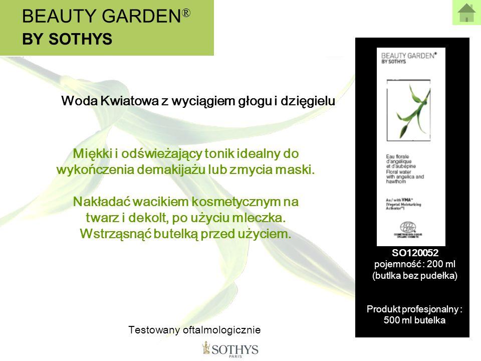 BEAUTY GARDEN® BY SOTHYS Woda Kwiatowa z wyciągiem głogu i dzięgielu