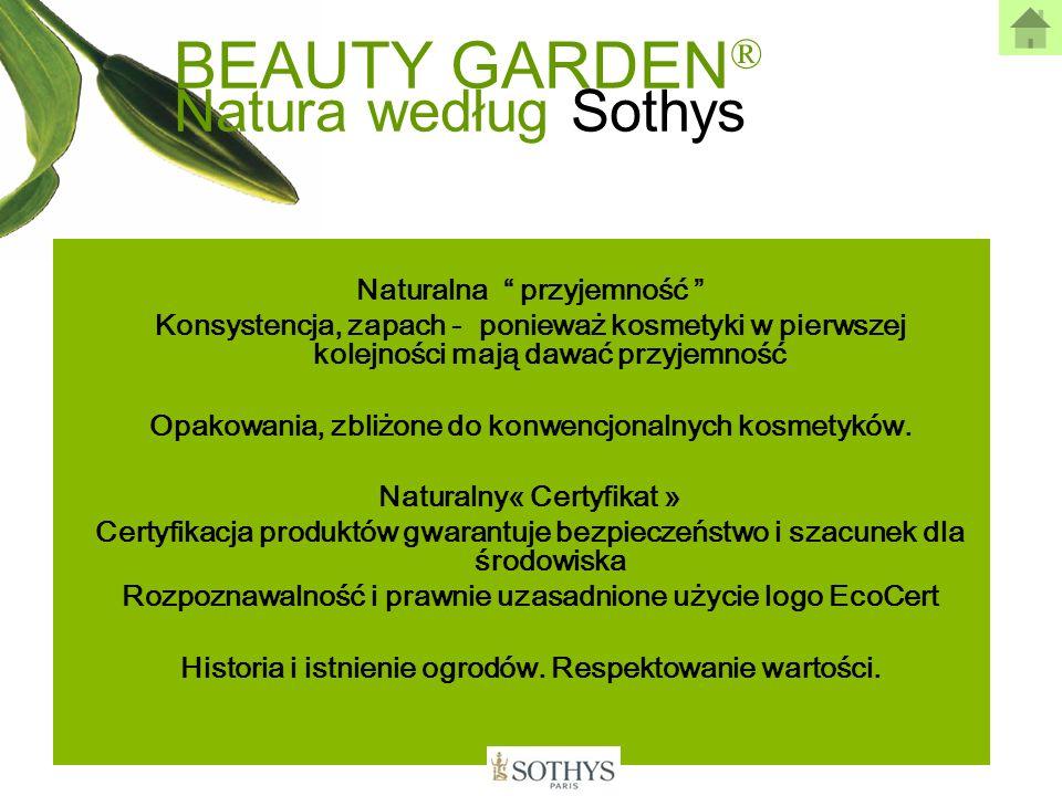 BEAUTY GARDEN® Natura według Sothys