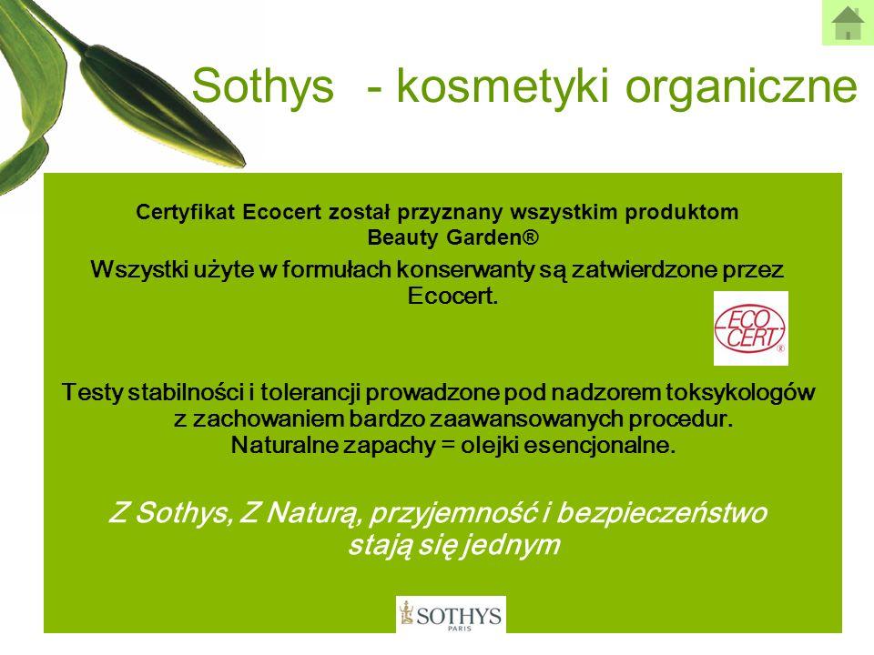 Sothys - kosmetyki organiczne