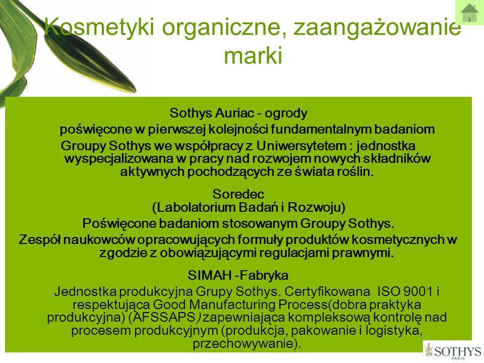 Kosmetyki organiczne, zaangażowanie marki