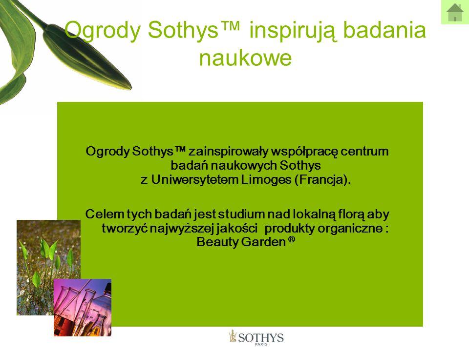 Ogrody Sothys™ inspirują badania naukowe