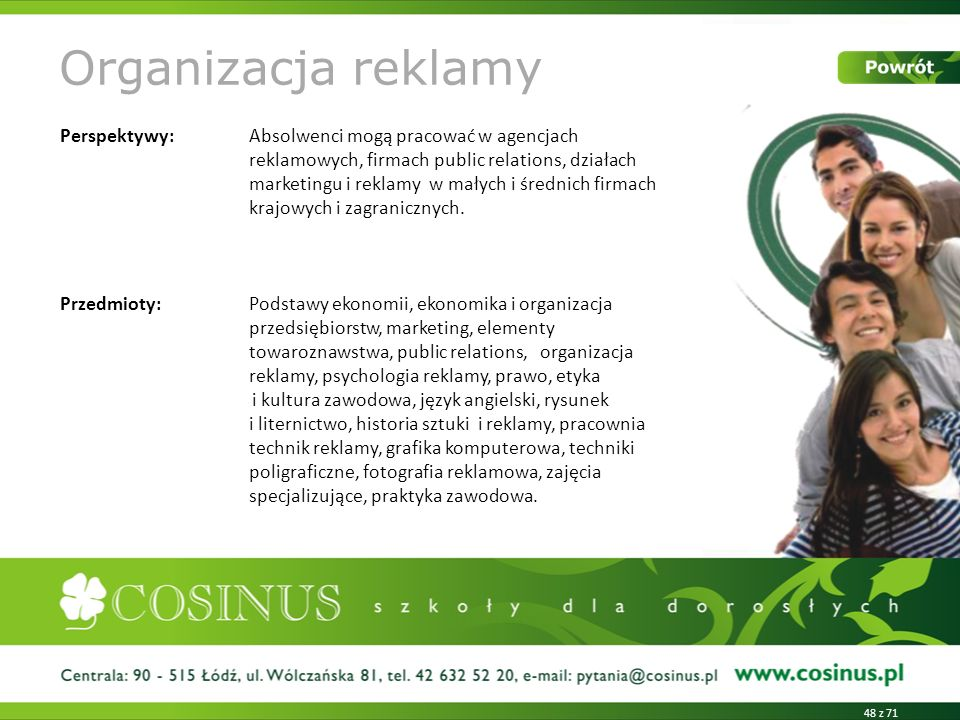 Organizacja reklamy
