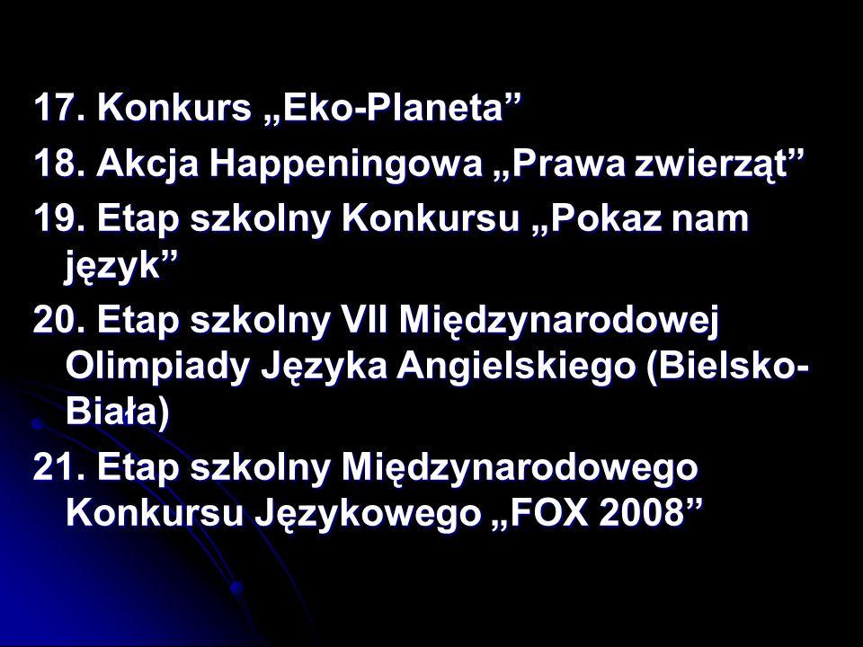 "17. Konkurs ""Eko-Planeta"