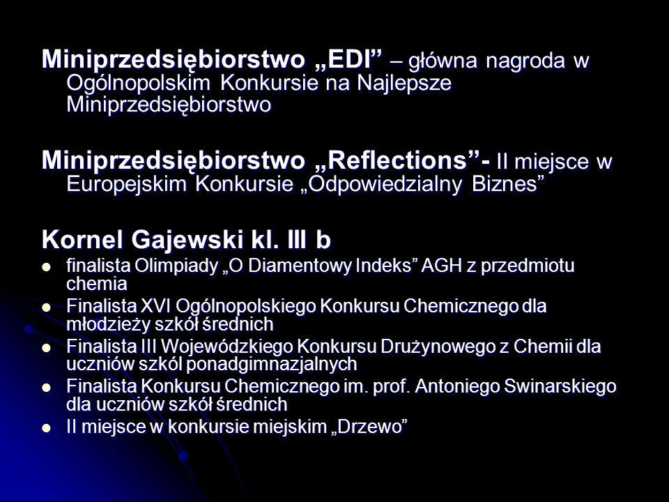 Kornel Gajewski kl. III b