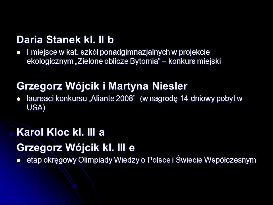 Grzegorz Wójcik i Martyna Niesler