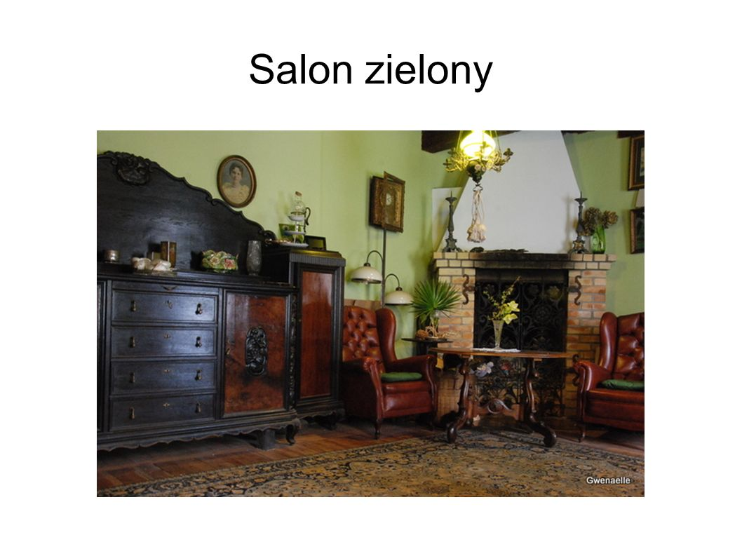 Salon zielony