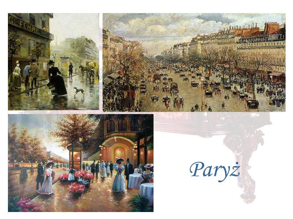 Jesienią 1831 r. Chopin przyjechał stolicy Francji
