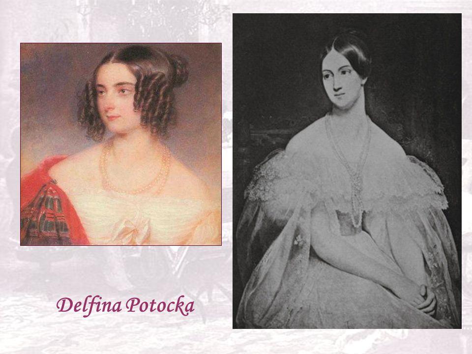 Zjawiskowo piękna , czarująca , o nieprzeciętnych talentach , była jedną z jego pierwszych uczennic, Chopin zabiegał o jej względy , odwiedzali się , ona lubiła słuchać jego improwizacji , on jej chętnie akompaniował , uwielbiał jej śpiew . Przyjaźń ta przetrwała do końca życia kompozytora . Czy tylko przyjaźń Rodzina Potockiej po dziś dzień nie udostępnia ich listów.