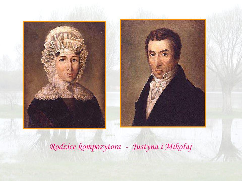 Rodzice kompozytora - Justyna i Mikołaj