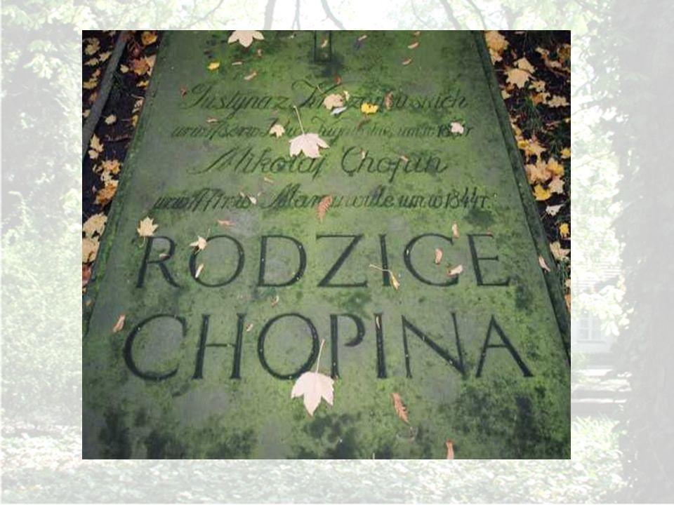 Nagrobek rodziców Chopina na Powązkach w Warszawie.