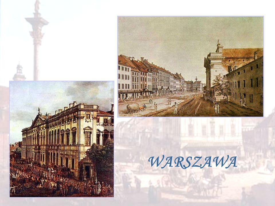 Jesienią 1810 r. gdy Fryderyk miał kilka miesięcy, rodzina Chopinów przeniosła się do Warszawy . Ojciec został wykładowcą w renomowanym Liceum Warszawskim potem uczył także w szkole Wojskowej i Szkole Artylerii nauczał języka francuskiego , niemieckiego . Mikołaj utrzymywał kontakty z elitą umysłową stolicy : profesorami UW . U Chopinów bywali u m. in. Samuel Bogumił Linde i Julian Ursyn Niemcewicz .