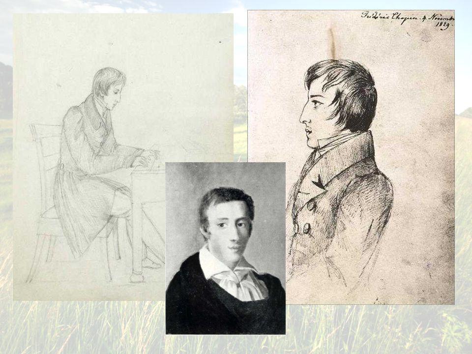 . Fryderyk Chopin w wieku 19 lat.