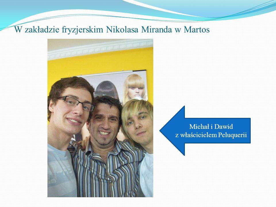 W zakładzie fryzjerskim Nikolasa Miranda w Martos