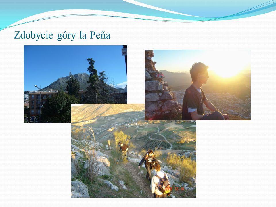 Zdobycie góry la Peña