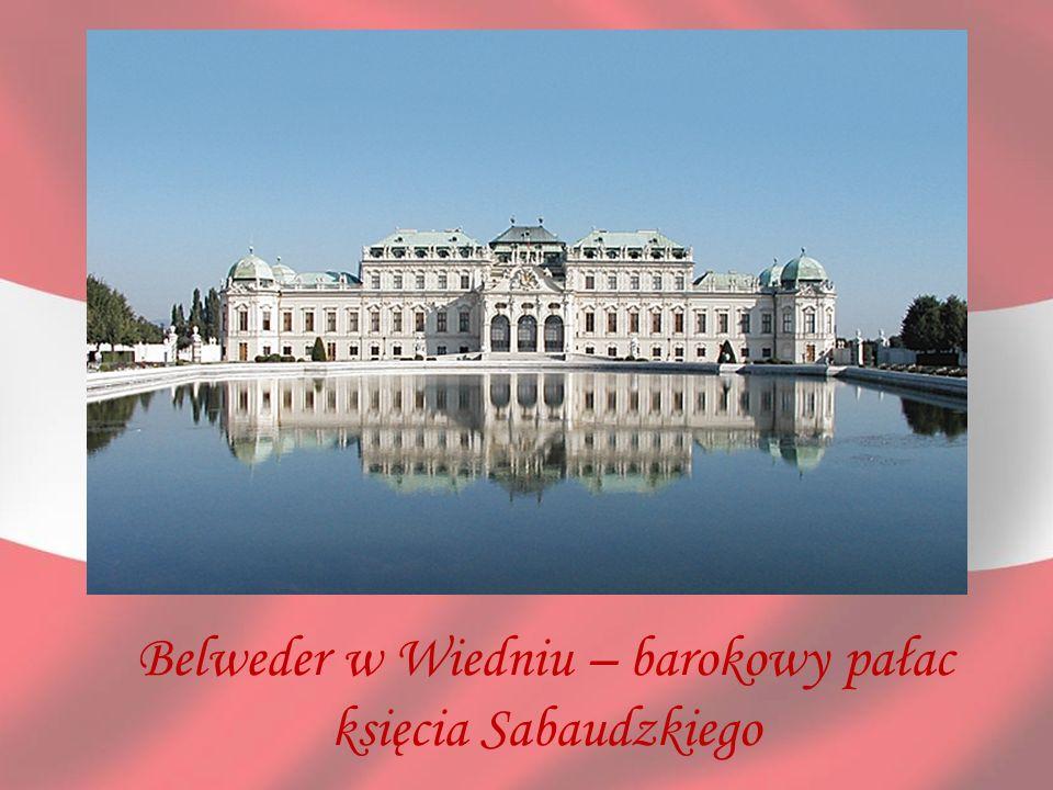 Belweder w Wiedniu – barokowy pałac księcia Sabaudzkiego