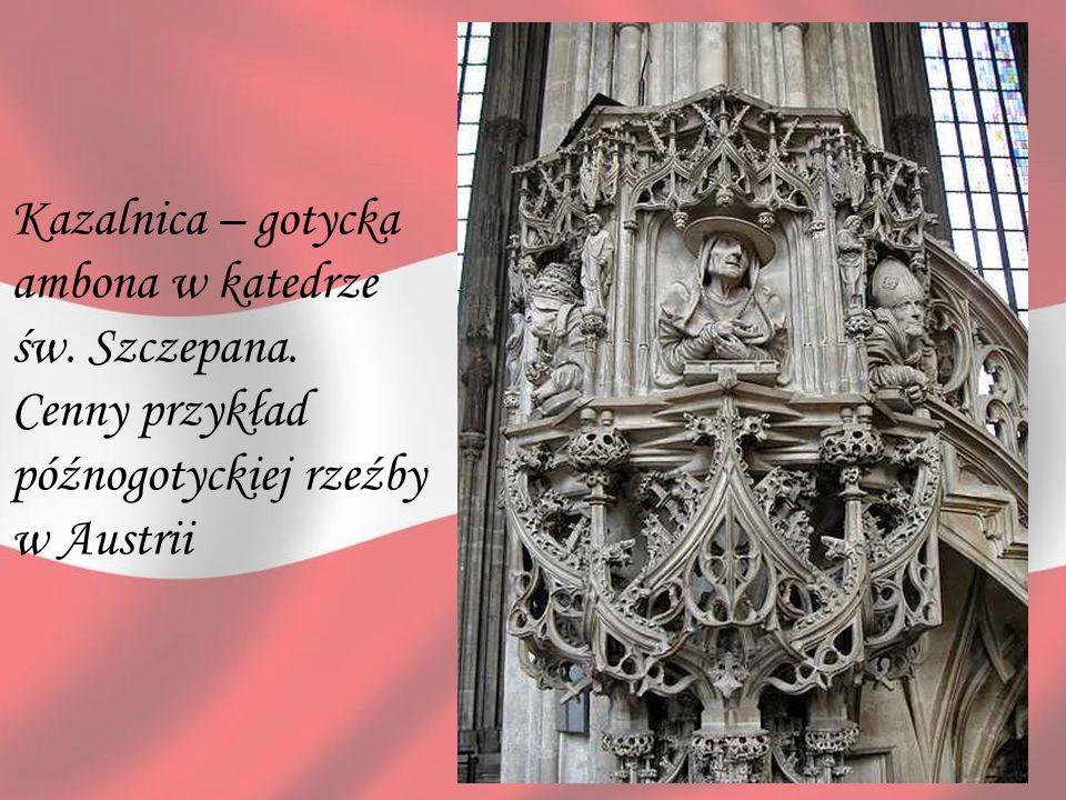 Kazalnica – gotycka ambona w katedrze