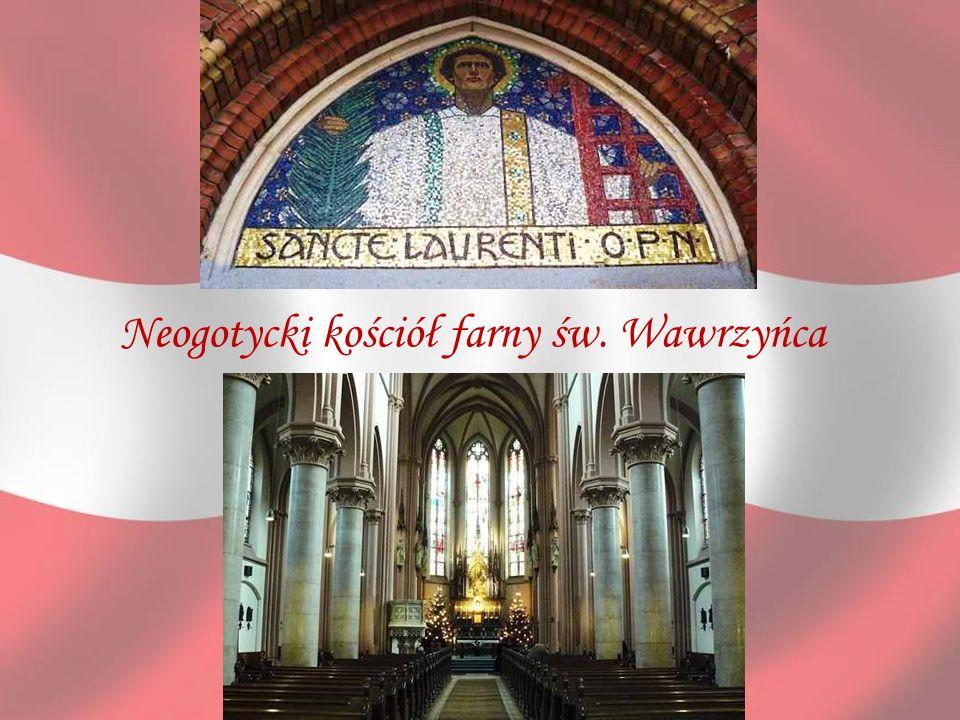 Neogotycki kościół farny św. Wawrzyńca