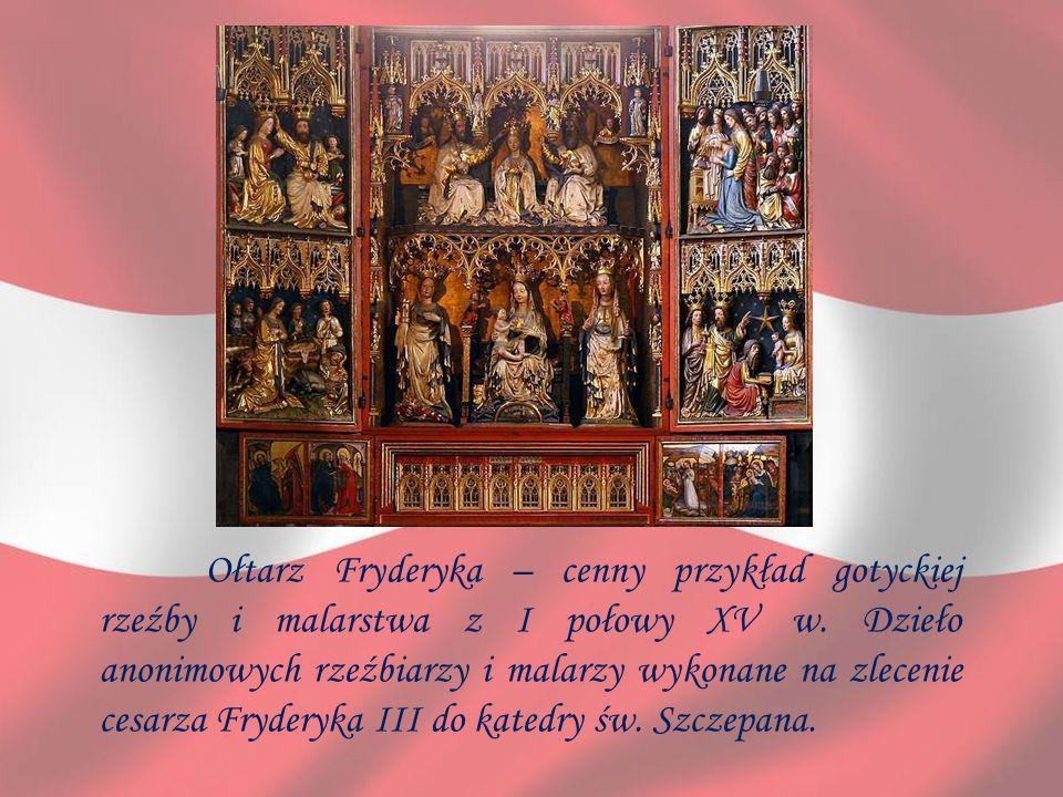 Ołtarz Fryderyka – cenny przykład gotyckiej rzeźby i malarstwa z I połowy XV w.