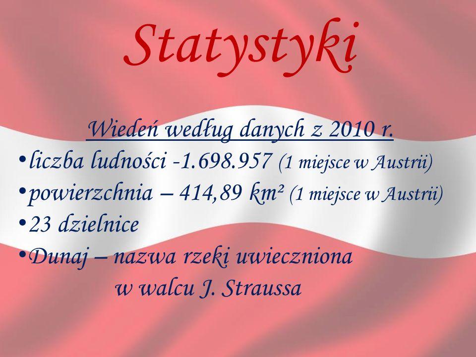 Wiedeń według danych z 2010 r.