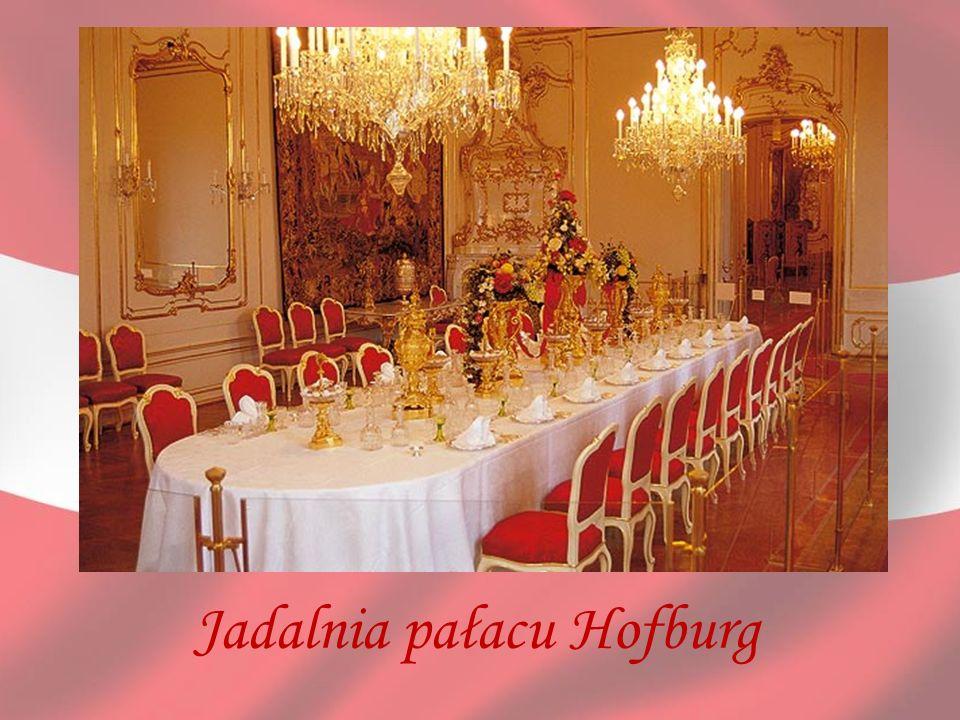 Jadalnia pałacu Hofburg