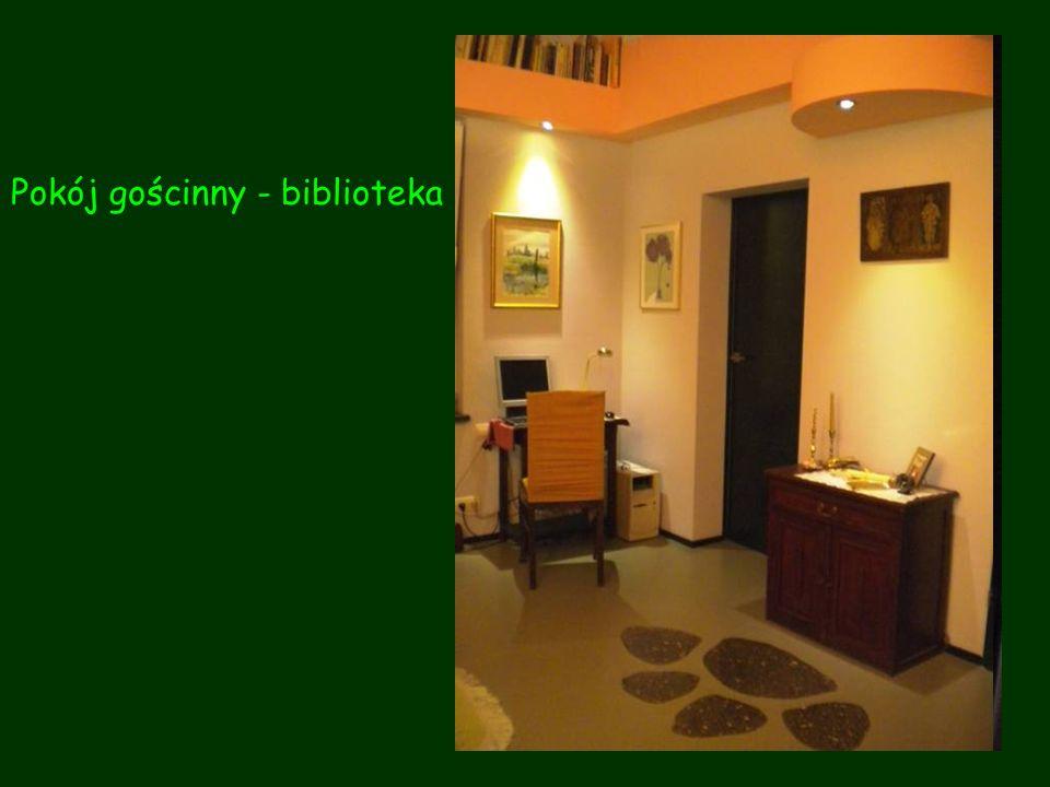 Pokój gościnny - biblioteka