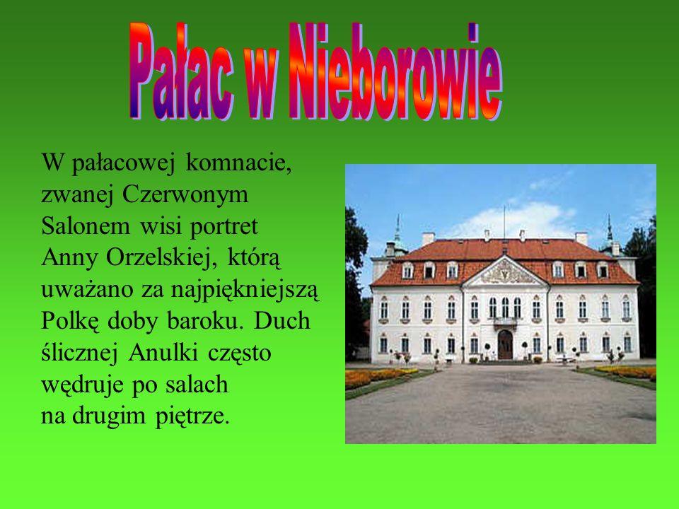 Pałac w Nieborowie W pałacowej komnacie, zwanej Czerwonym