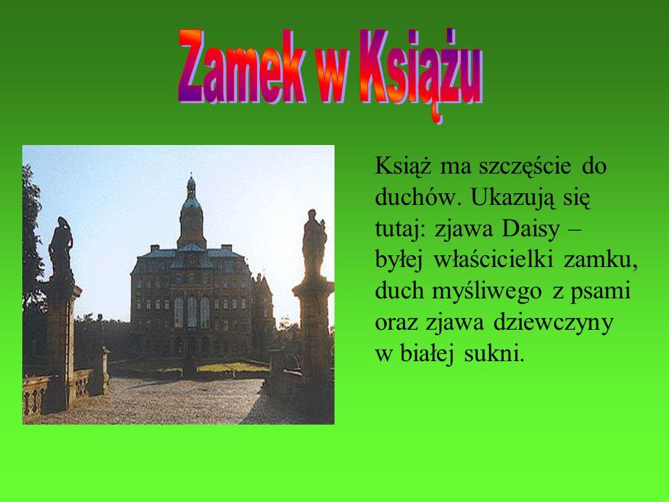 Zamek w Książu Książ ma szczęście do duchów. Ukazują się