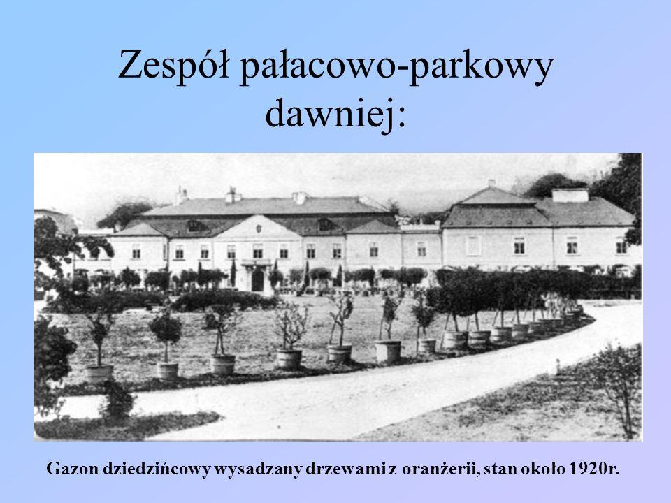 Zespół pałacowo-parkowy dawniej: