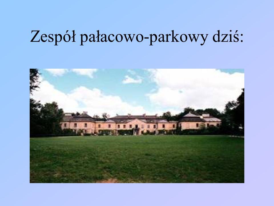 Zespół pałacowo-parkowy dziś: