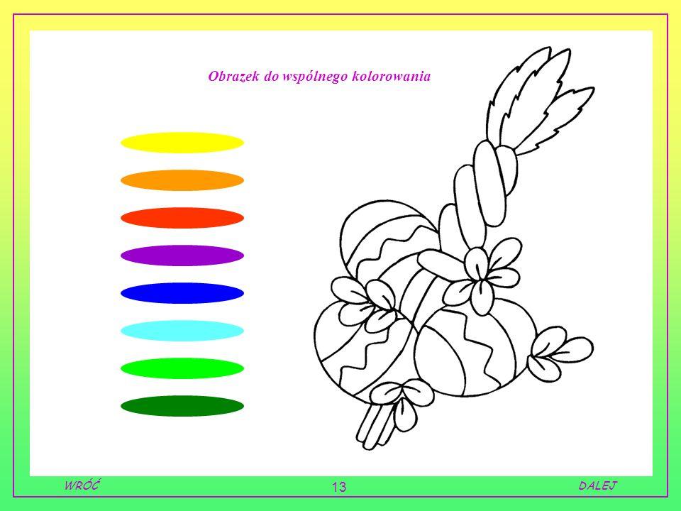 Obrazek do wspólnego kolorowania