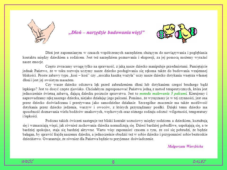 """""""Dłoń – narzędzie budowania więzi"""