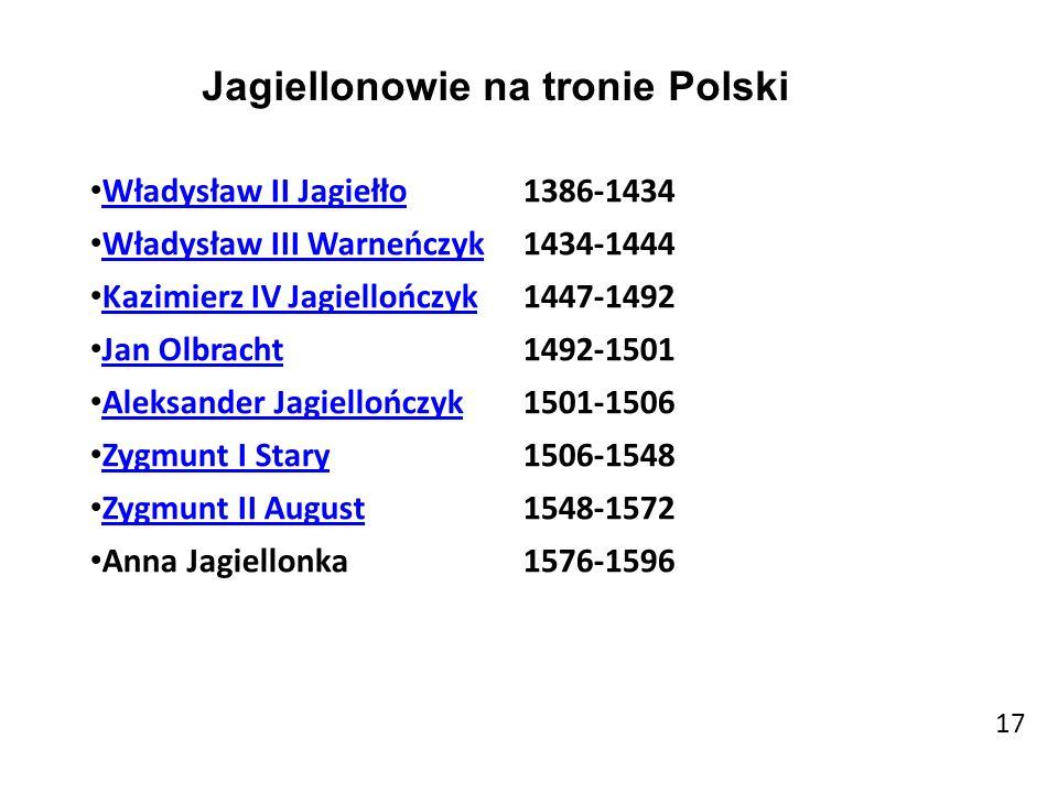 Jagiellonowie na tronie Polski