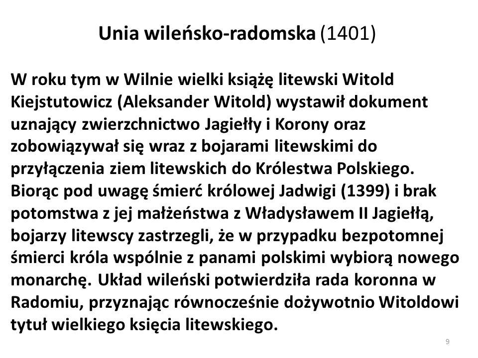 Unia wileńsko-radomska (1401)