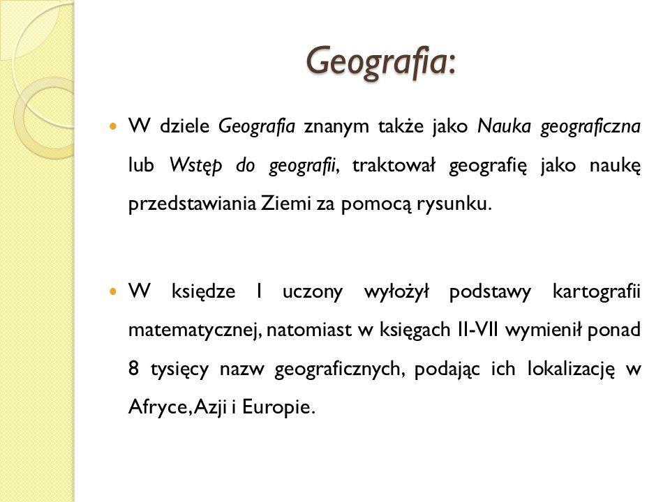 Geografia: