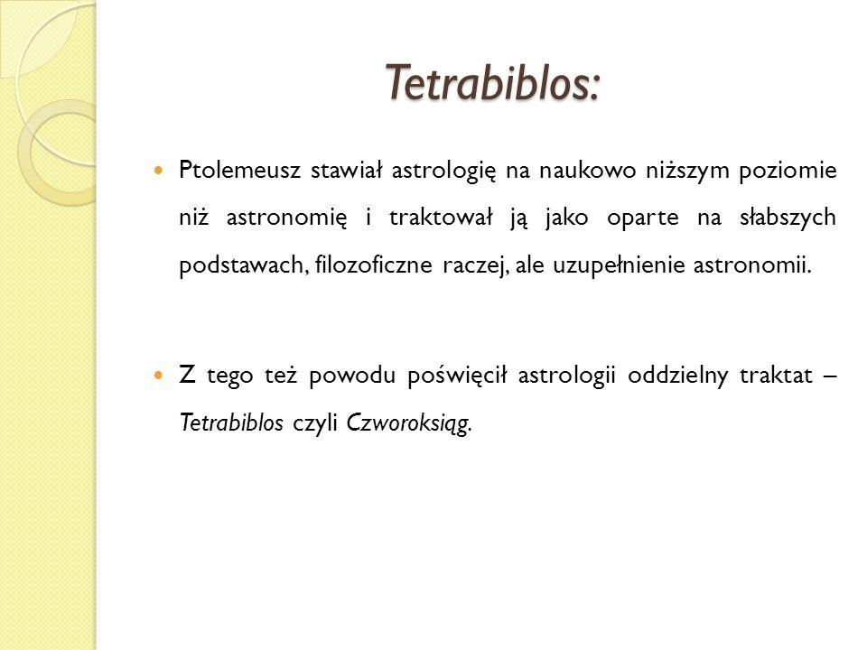 Tetrabiblos: