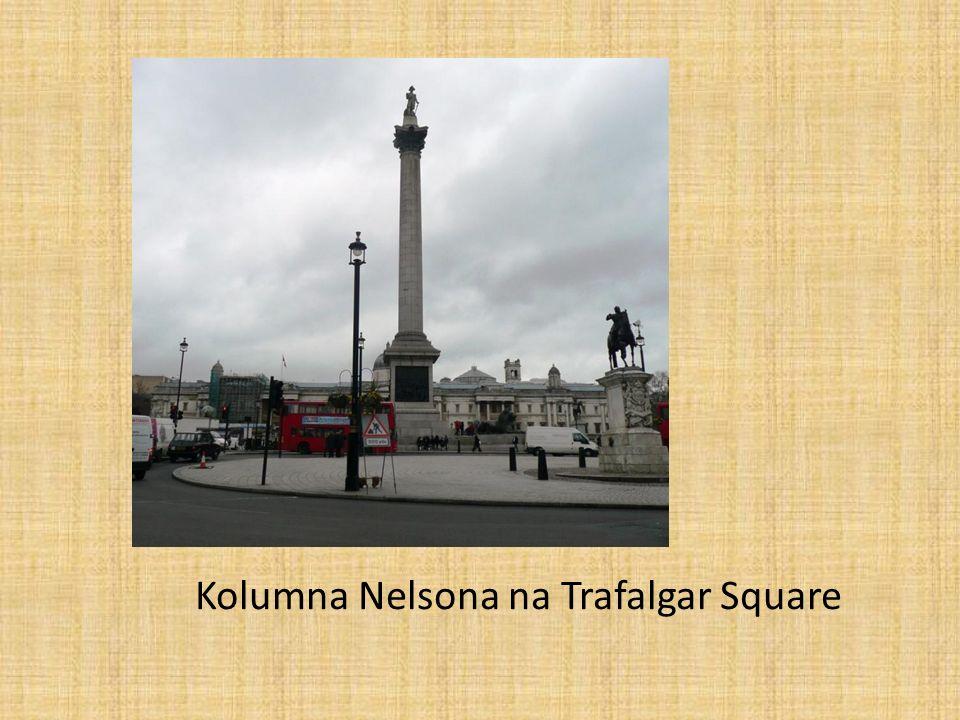 Kolumna Nelsona na Trafalgar Square