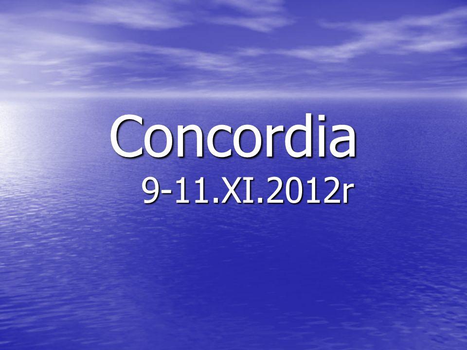 Concordia 9-11.XI.2012r