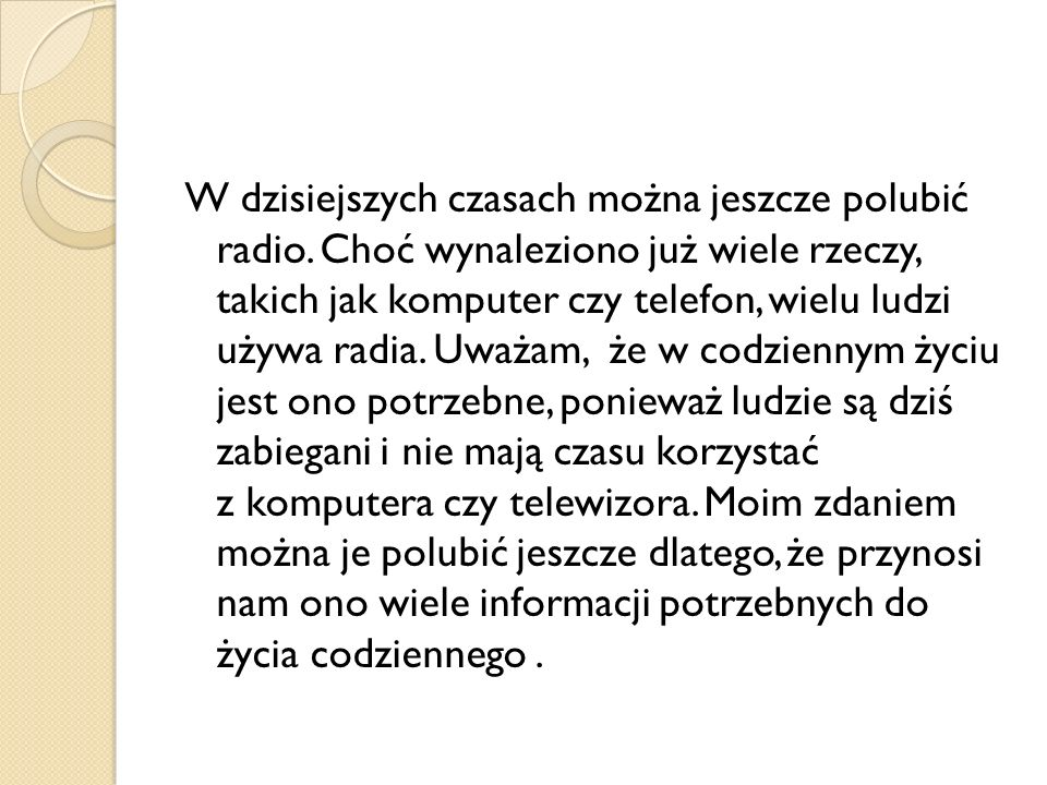 W dzisiejszych czasach można jeszcze polubić radio