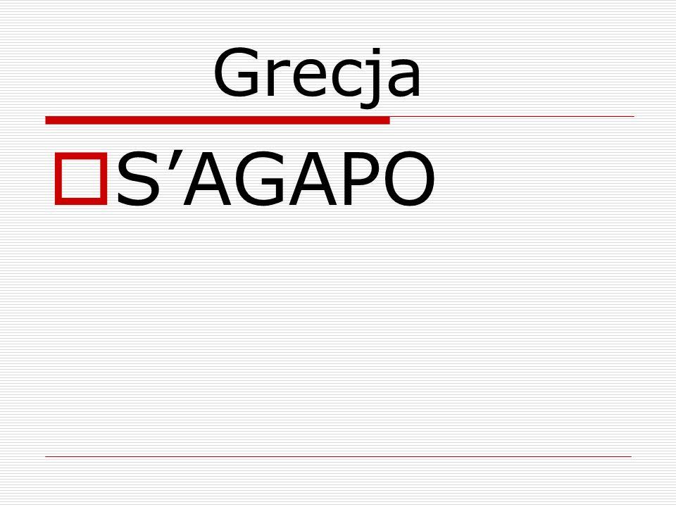 Grecja S'AGAPO