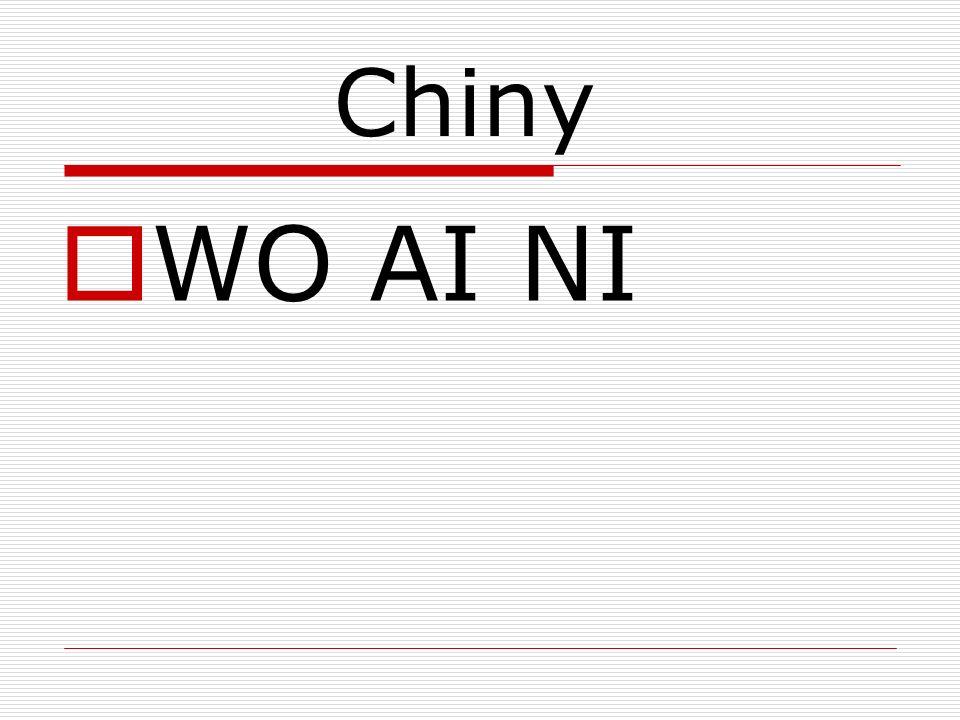 Chiny WO AI NI