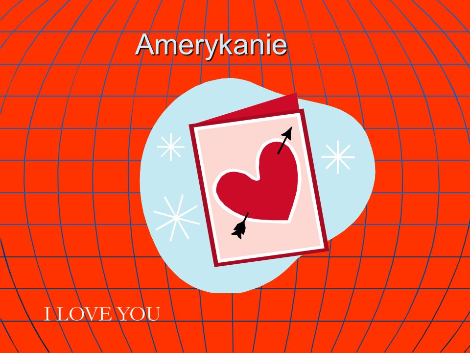 Amerykanie PS. I Love You I LOVE YOU