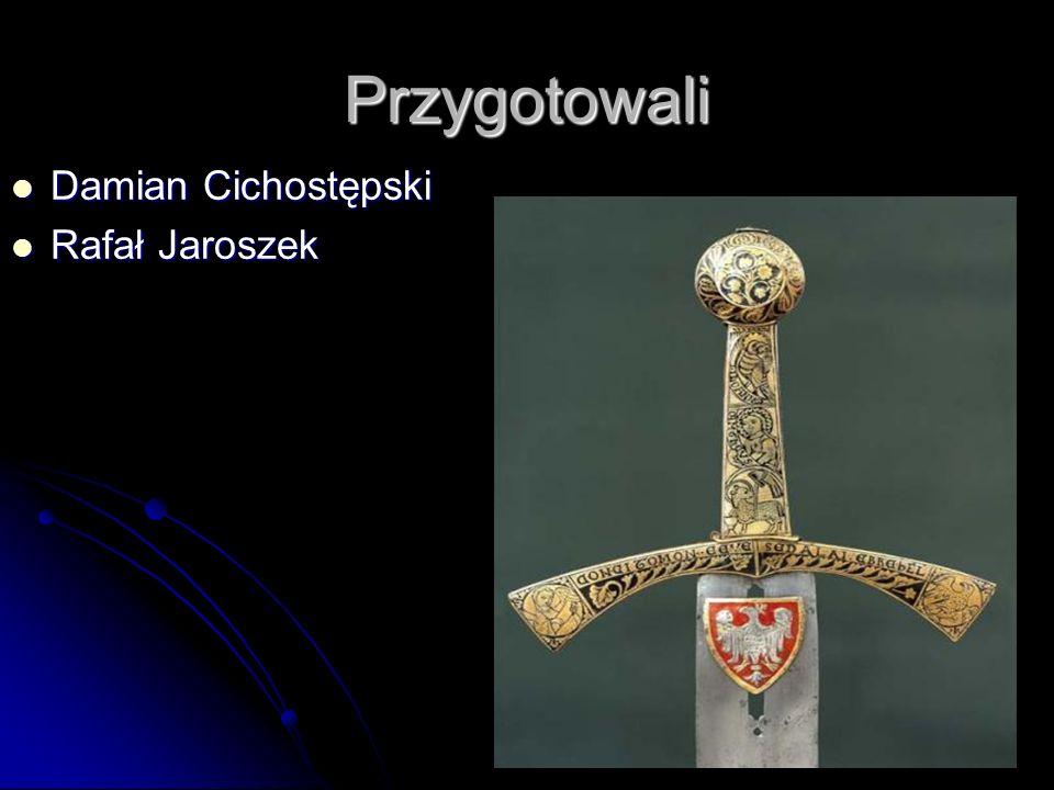Przygotowali Damian Cichostępski Rafał Jaroszek