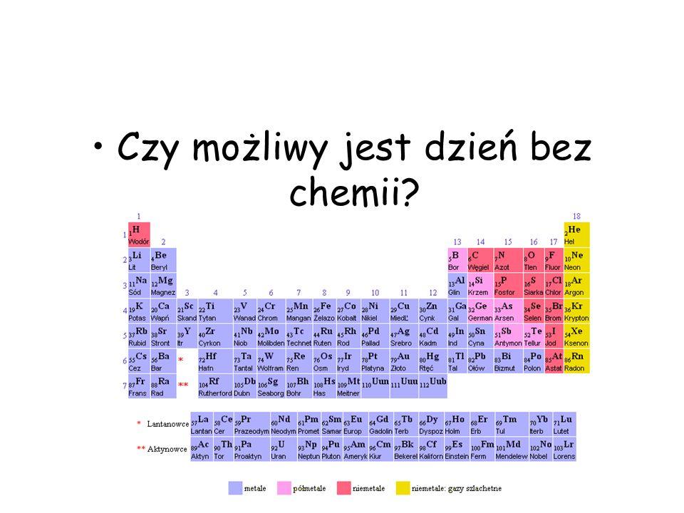 Czy możliwy jest dzień bez chemii