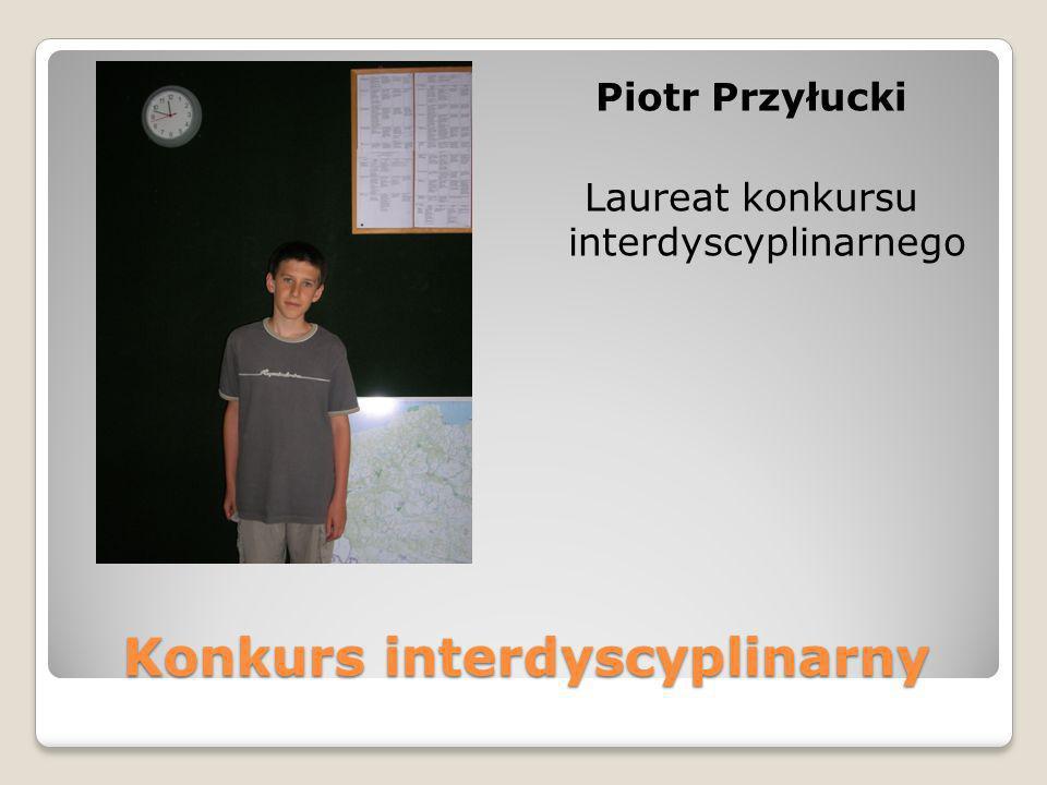 Konkurs interdyscyplinarny